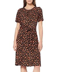 ed6418e172ae62 Dorothy Perkins - Amber Animal Ss Fit And Flare Dress - Lyst