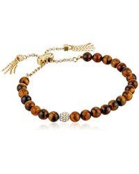 Cole Haan - Semi Precious Pull Tie Bracelet - Lyst