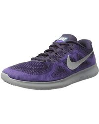 fe0976ac6d98a Nike Free Hyperfeel Cross Elite Trainer in Purple - Lyst