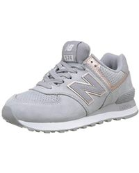 a9f7c26bb7ef96 New Balance - Wl574 Mineral Glow Pack Classic Running Shoe - Lyst