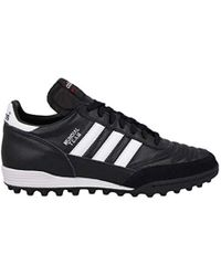 e7d20353269d Lyst - adidas Performance Mundial Team Turf Soccer Cleat in Black ...