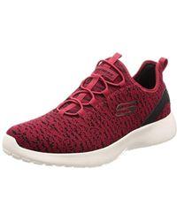 Skechers Men's Sports Shoe Dynamight PINCAY 58357RDBK Red Black