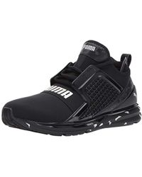 Lyst - PUMA Ignite Limitless Swirl Men s Sneakers in Black for Men f46570c63