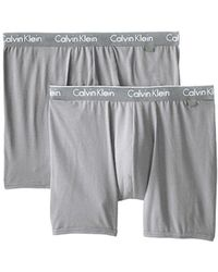 91affe3acc2e Lyst - Calvin Klein Underwear Ck One Cotton Stretch Boxer Brief in ...