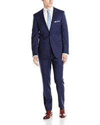 DKNY - Two Button Slim Fit Stretch Suit - Lyst