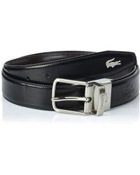 Lacoste - Rc1622 Belt - Lyst