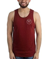 ef4185b9dfd75 Lyst - Men s Brixton Sleeveless t-shirts On Sale