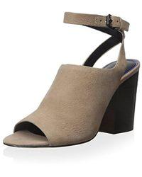 f5c4c3637f7 Elie Tahari - Pru Chunky Heel Dress Sandal - Lyst