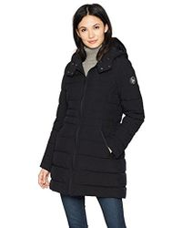 Nautica - 3/4 Hooded Stretch Packable - Lyst