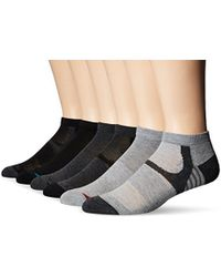 Perry Ellis - Portfolio 6 Pack Spear Performace Speed Dry Low Cut Socks - Lyst
