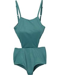 RVCA - Solid One Piece Swimsuit - Lyst