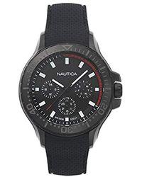 Nautica - Quartz Resin Silicone Watch - Lyst
