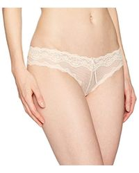 Heidi Klum - Mesh With Lace Cheeky Pant - Lyst
