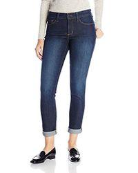 NYDJ - Anabelle Skinny Boyfriend Jeans In Glendale - Lyst