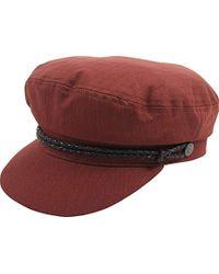 Lyst - Brixton Albany Greek Fisherman Hat in White for Men 028b63c790d4