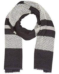 Levi's - Engineered Stripe Wrap Shawl, (noir Regular Black), One (size: Un) - Lyst