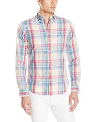 GANT - Slim Madras Check Shirt - Lyst