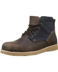 Levi's - ''s Jax Desert Boots, (dark Brown 29), 11 Uk 10.5 Uk - Lyst