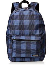 Ben Sherman - Unisex-adult Vale Backpack Blue (navy/tan) - Lyst
