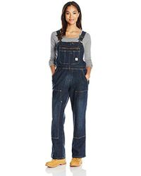 903b1511d8a Carhartt - Brewster Double Front Bib Overalls - Lyst