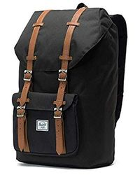 ba7ed973605 Lyst - Herschel Supply Co. Little America Medium Backpack in Gray ...