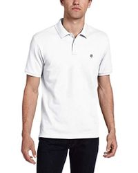 Victorinox - Vx Stretch Pique Polo, White, Large - Lyst