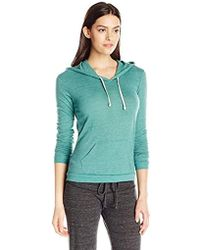 Alternative Apparel - Eco Jersey Classic Pullover Hoodie - Lyst