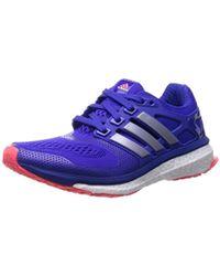 Adidas energia impulso 2, scarpe da corsa in nero lyst