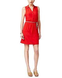 G.H.BASS - Crepe Jersey Dress - Lyst