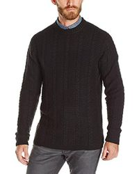 French Connection - Magma Cable Sweater - Lyst