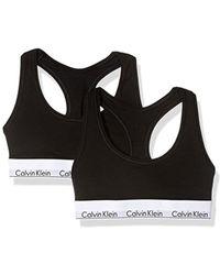 CALVIN KLEIN 205W39NYC - Modern Cotton Bralette - Lyst