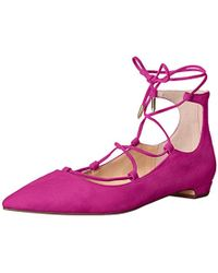 Ivanka Trump - Tropica Ballet Flat - Lyst