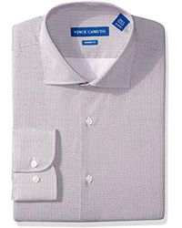 Vince Camuto - Modern Fit Printed Pindot Dress Shirt - Lyst