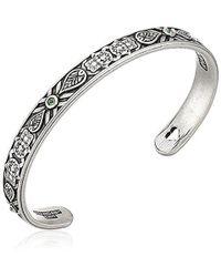 ALEX AND ANI - Hand Of Fatima Cuff Bangle Bracelet, Rafaelian Silver, Expandable - Lyst