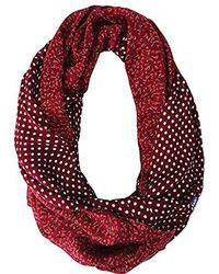 Keds - Reversible Printed Infinity Scarf - Lyst