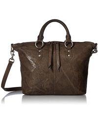 Frye - Veronica Satchel Leather Handbag - Lyst