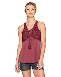 BCBGeneration - Tassle Tie Top - Lyst