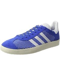 Adidas Gazelle Primeknit Trainers in Red for Men - Lyst 34dc59308