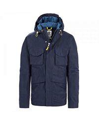 12b488a4648 Timberland Mount Bond Windbreaker Jacket Black in Black for Men - Lyst