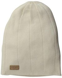 Cole Haan - Rib Pointelle Slouchy Beanie - Lyst
