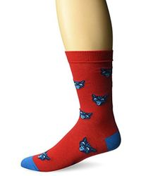 DIESEL - Skm-ray Cats, Red, Sock Size:10-13/shoe Size: 6-12 - Lyst