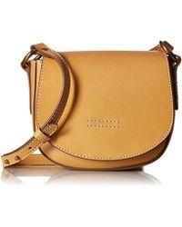 Frye - Harness Small Saddle Crossbody Leather Handbag - Lyst