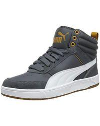 d9edd5dd9fb5 PUMA Rebound Street V2 L Men s Shoes (high-top Trainers) In Black in ...