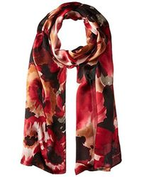 Vince Camuto - Day Trip Floral Oblong Scarf - Lyst