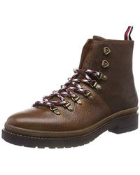 5a20c992d07ace Tommy Hilfiger - Elevated Outdoor Hiking Boot Combat - Lyst