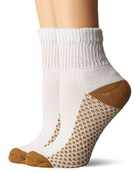 Dr. Scholls - Diabetic And Circulatory With Cupron Ankle 2 Pack Sock - Lyst