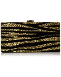 MILLY - Zebra Box Clutch - Lyst