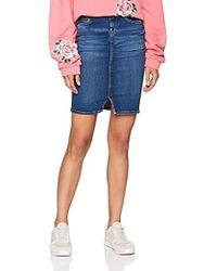 Pepe Jeans - Taylor Women's Skirt In Blue - Lyst
