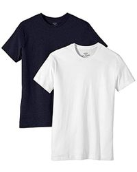 Wrangler - Pack Of 2 Short Sleeve Crew Neck T-shirt - Lyst