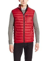 CALVIN KLEIN 205W39NYC - Quilted Puffer Vest Red L - Lyst